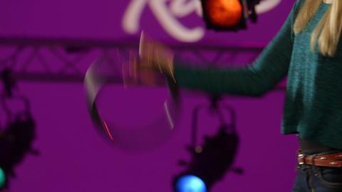 Hoopz Trick 20- Hoopz Jumping Hyper Spin (Hard)