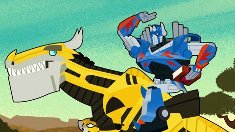 How To Ride A Dinobot 2