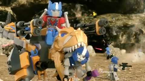 Transformers Dino Force Technology Commercial