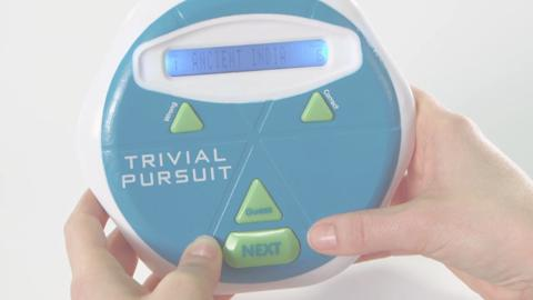 Trivial Pursuit Hints Product Demonstration