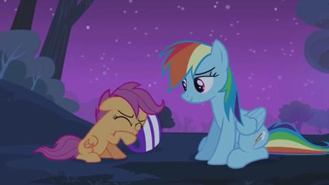 MLP  Friendship is Magic - All Ponies Get Scared...Even Rainbow Dash Poniaffirmation