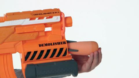 A8494 NERF Demolisher demo video