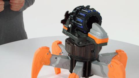 A8017 NERF Combat Creatures TerraDrone demo video
