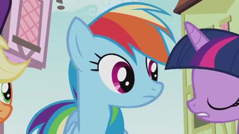 MLP  Friendship is Magic - A Real Hero Doesn't Brag Poniaffirmation