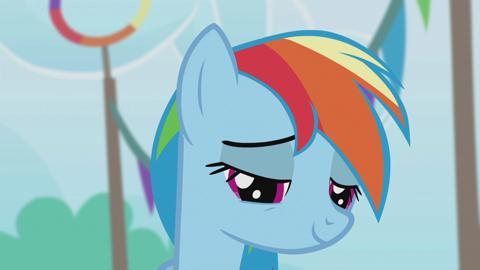 Elements of Harmony - Rainbow Dash - Loyalty