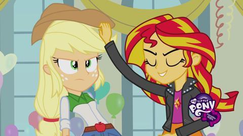 Rencontrez les Equestria Girls: Sunset Shimmer