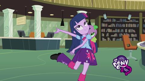 Rencontrez les Equestria Girls: Twilight Sparkle