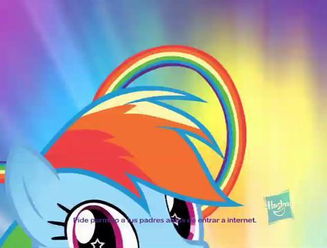 MLP Flip & Whirl Rainbow Dash baja audio