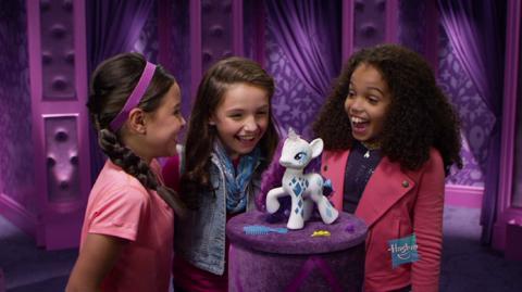 Comercial de TV La Magia de los Cutie Marks - Esplendorosa Rarity