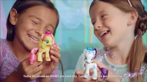 MY LITTLE PONY- AMIGUITAS PONY