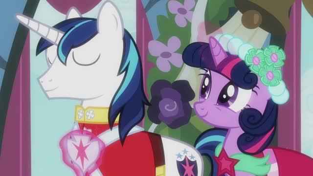 My little pony conoce a Twilight