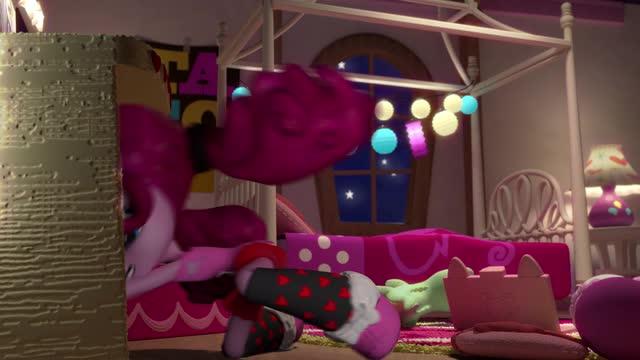 Pinkie pie fiesta de pijamas