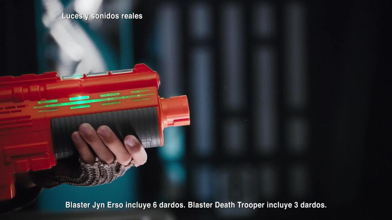 Blasters - Jun Erso y Death Trooper