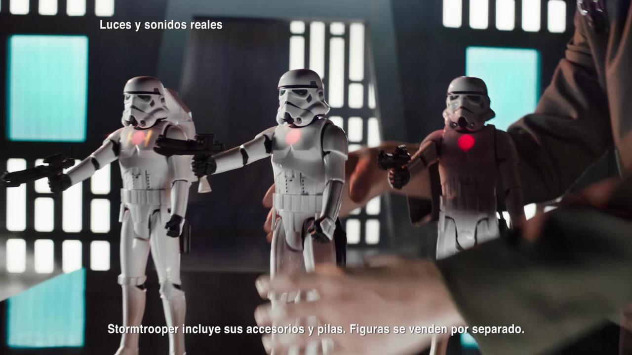 StormTrooper imperial interactivo
