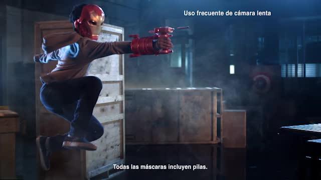 Lanzador de Spiderman y armaduras Vengadores