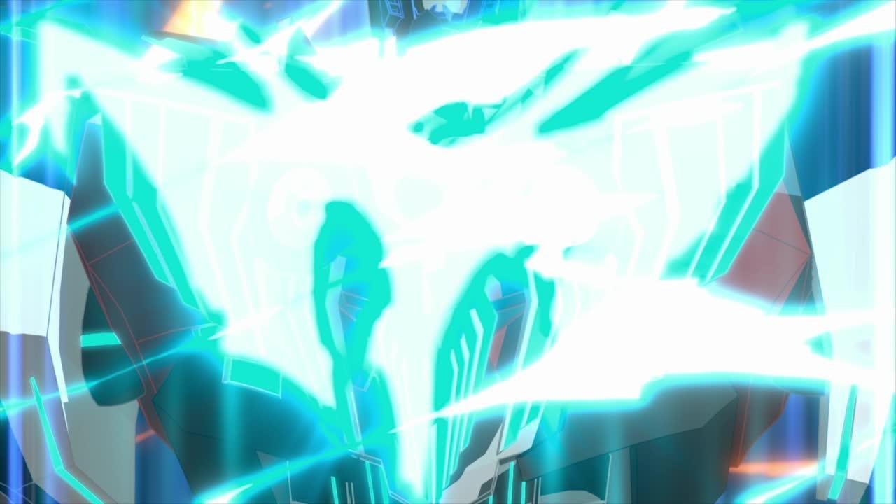 Robots In Disguise- Optimus Prime, poderes activados