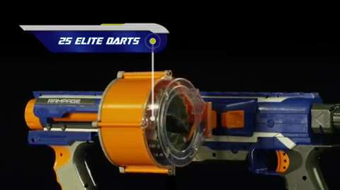 Nerf N-Strike Elite Rampage Teaser Video