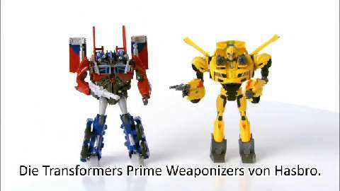 Transformers Prime Weaponizers Product Demo
