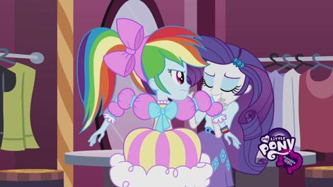 Equestria Girls Meet Rarity