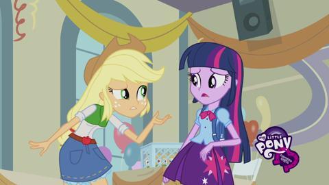 Equestria Girls Meet Applejack