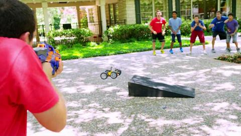 NERF Perfect Shots - The Moving Target