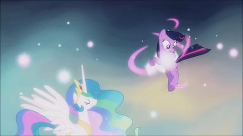 My Little Pony MeetPonies Celestia