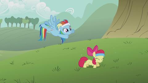 My Little Pony Lerne Rainbow Dash kennen