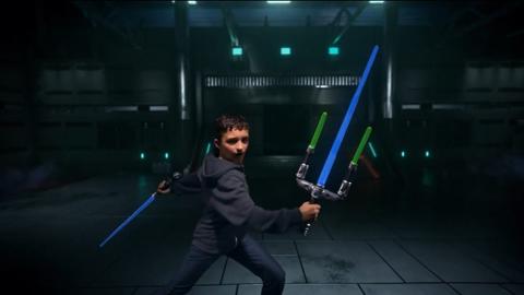 Star Wars Jedi Meister Lichtschwert TV Spot