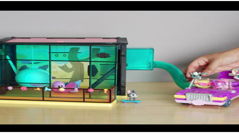 Littlest Pet Shop Party Limo