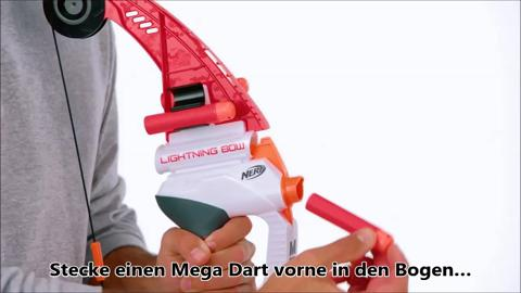 NERF N-Strike MEGA Lightning Bogen - Produktdemo-Video