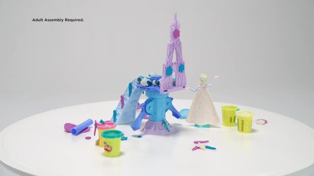 Play-Doh Disney Die Eiskönigin Elsas Eispalast - 360 Grad-Video