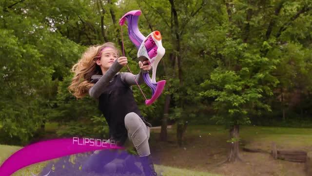 NERF Rebelle Flipside Bogen und Corner Sight Blaster - TV-Spot
