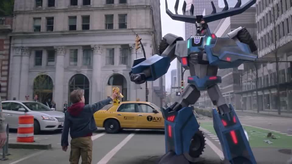 Transformers RID Power Heroes Bumblebee und Sideswipe - TV-Spot