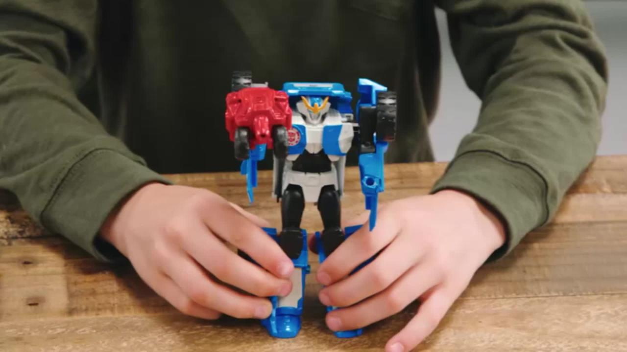 Transformers Robots in Disguise Activator Combiners - Produktdemo-Video