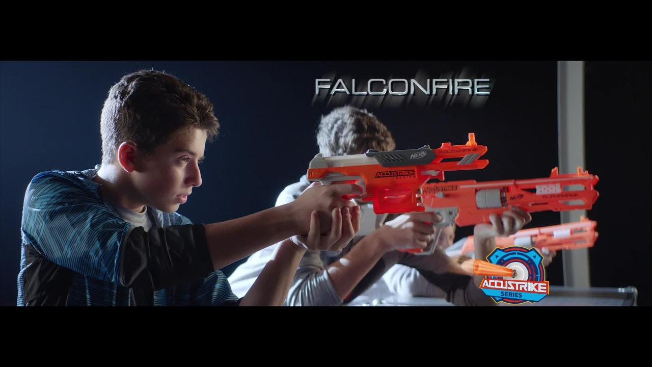 NERF N-Strike Elite Accustrike Alphahawk und Falconfire - TV-Spot
