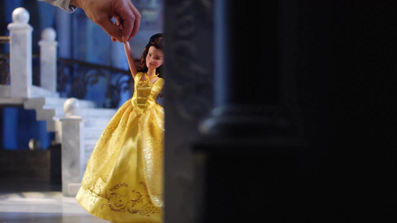 Die Schöne und das Biest singende Belle - TV-Spot