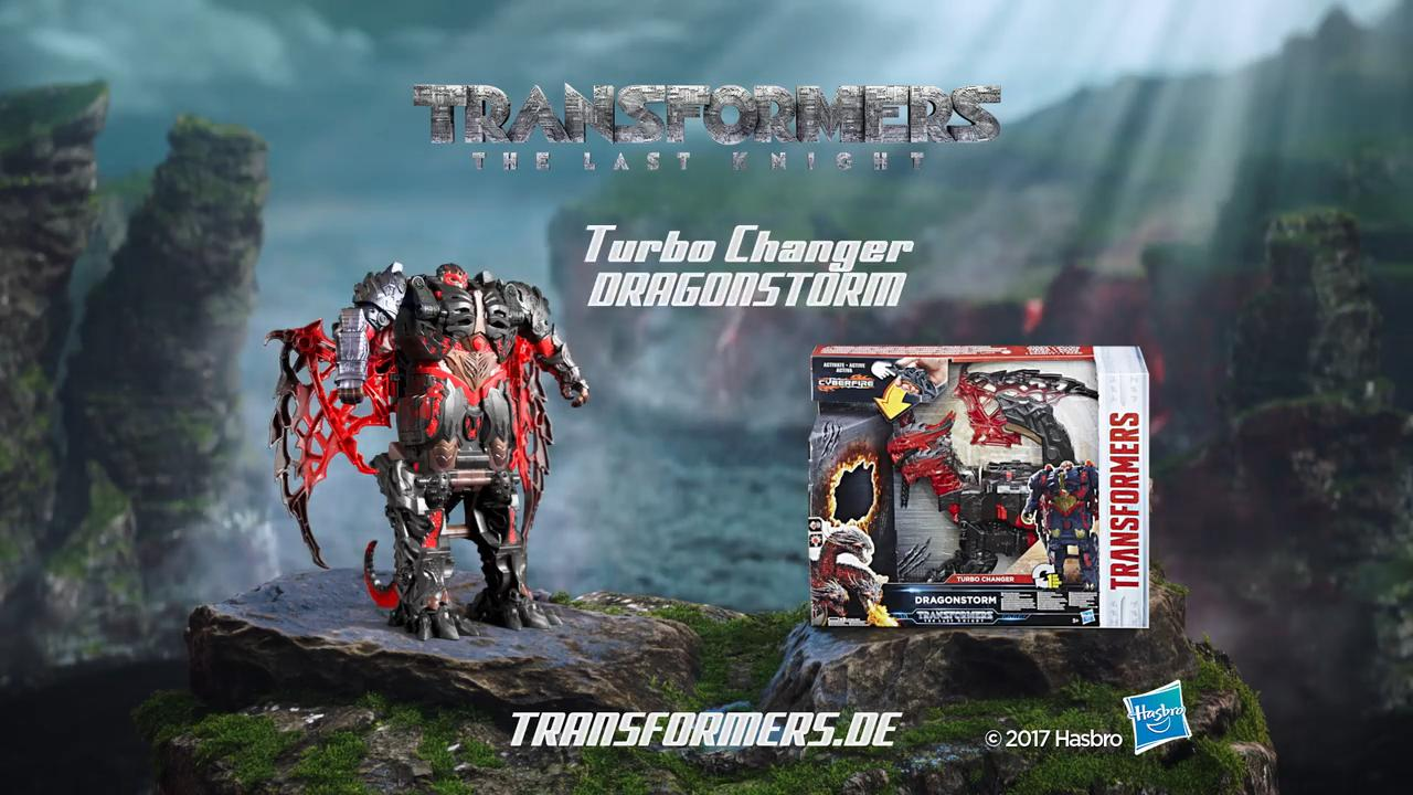 TRANSFORMERS MOVIE 5 DRAGONSTORM