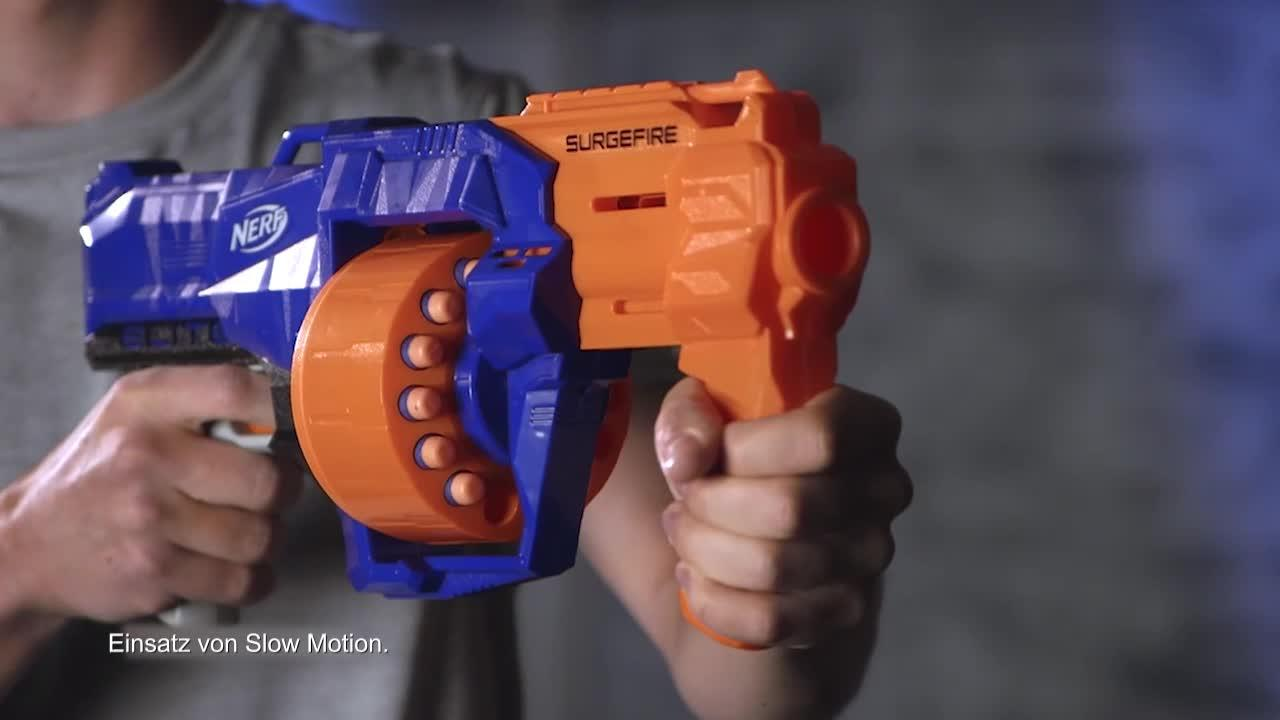 NERF N-Strike Elite Surgefire - Produktdemo-Video