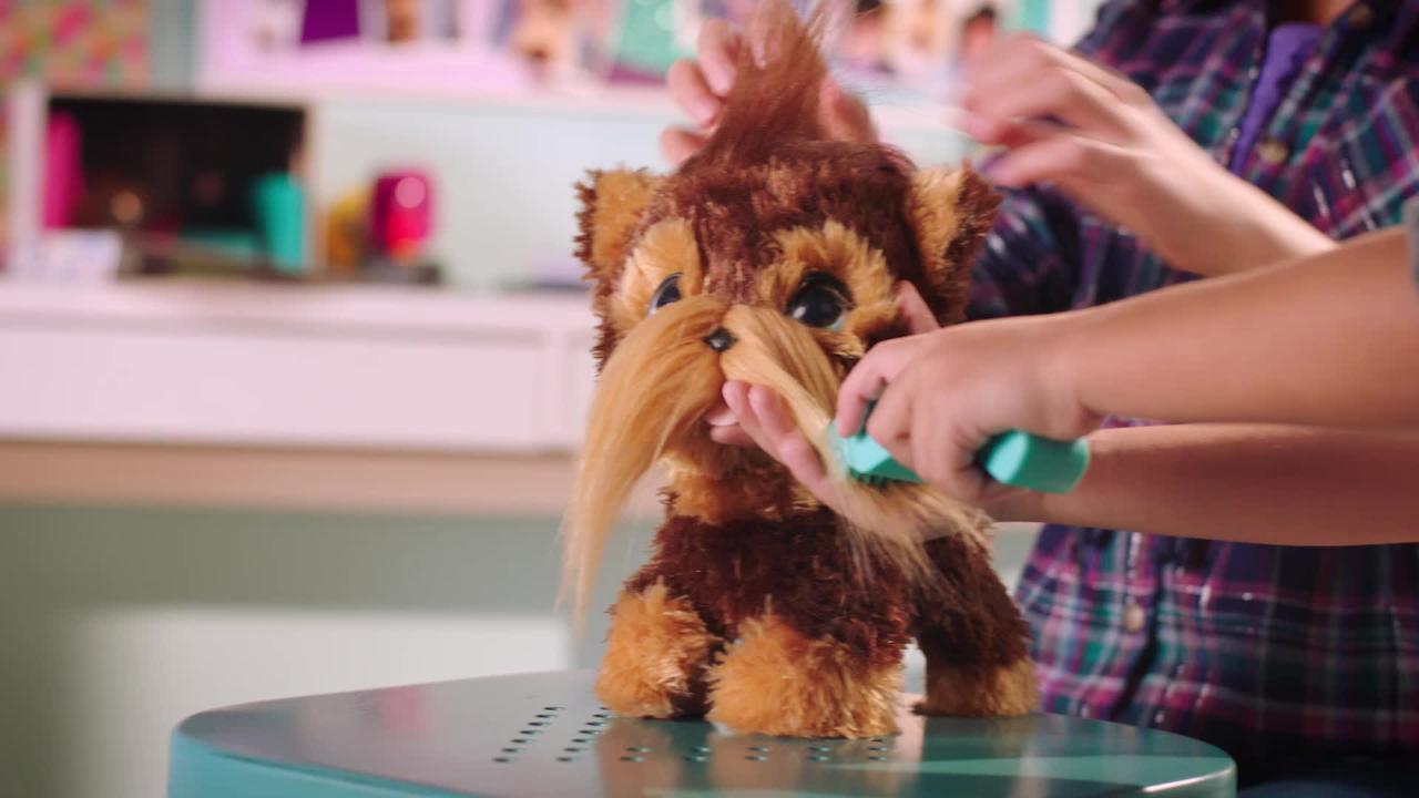 FurReal Frisierspass Huendchen & FurReal Cuties - TV-Spot