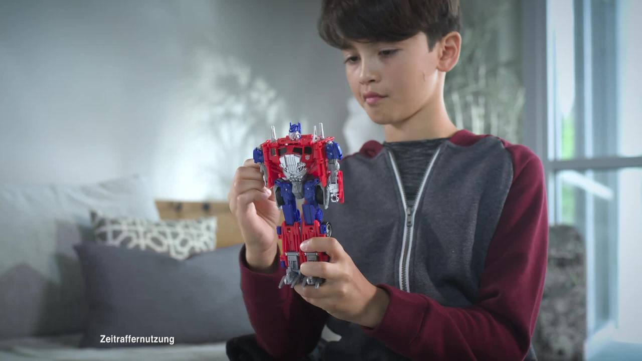 Transformers Movie 6 Energon Igniters Power Plus und Nitro Figur - TV-Spot
