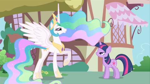 Movie Clip Meet Princess Celestia