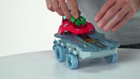 Playskool Heroes Marvel Hellacarrier Vehicle Demo