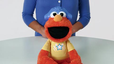 Sesame Street Let's Imagine Elmo Demo
