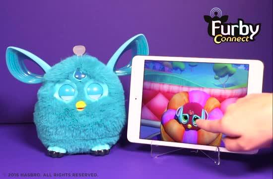 Hatching a Furbling in the Furby Connect App