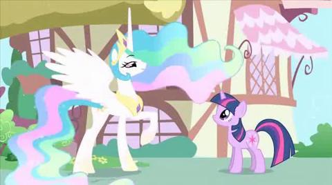 Webisode 4 Princesse Celestia