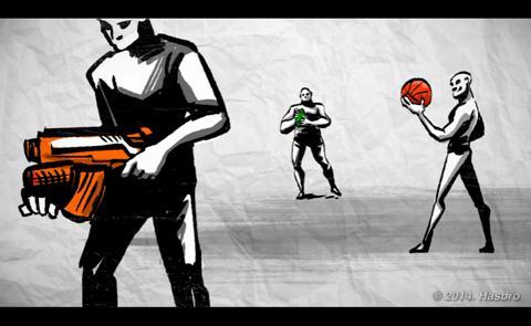 Nerf Playbook Demolisher en groupe