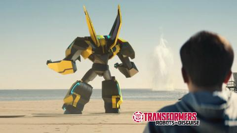PUB TV TRANFORMERS ROBOTS IN DISGUISE