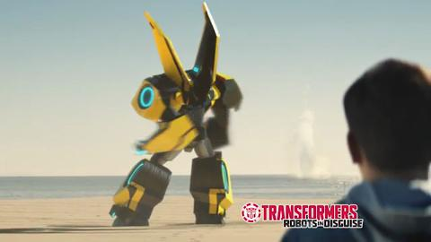 Transformers: Robots In Disguise : Pub TV