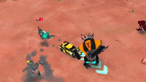 Transformers: Robots In Disguise : l'appli mobile et tablette