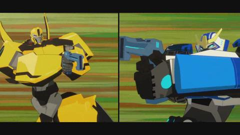 Transformers: Robots In Disguise : extrait du dessin animé